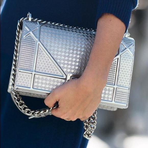 Dior Handbags - 💎Christian Dior AMA Silver Shoulder Bag💎 9d70485e9c